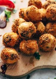 Deep-Fried Goat Cheese Balls
